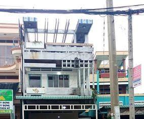Bán gấp nhà mặt tiền QL50 cũ ,thị Trấn Chợ Gạo ,Tiền Giang