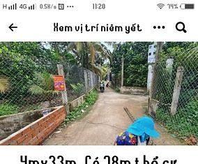 Đất 4mx33m (78m thổ cư) Trung An Mỹ Tho Tiền Giang