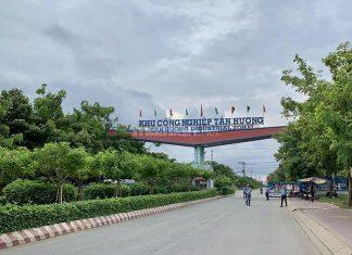 Đất thổ cư kcn Tân Hương Tiền Giang SHR